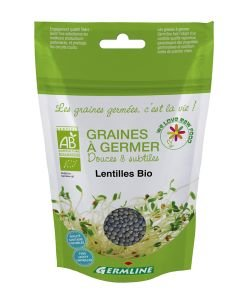 Graines à germer - Lentilles BIO, 150g