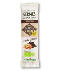 Barres de céréales germées : Amande - Chocolat