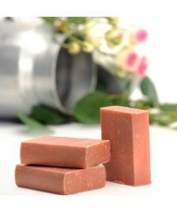 Savon au lait de chèvre - Rose musquée - Géranium, 100g