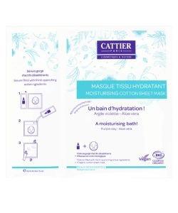 Masque Tissu Hydratant BIO, 20ml