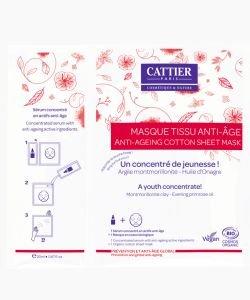 Masque Tissu Anti-Age BIO, 20ml
