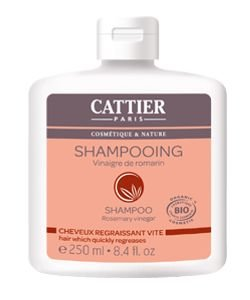 Shampooing Vinaigre de Romarin - Cheveux regraissant vite BIO, 250ml