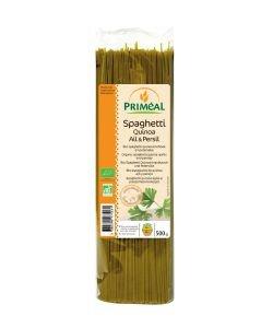 Spaghetti quinoa, ail & persil BIO, 500g