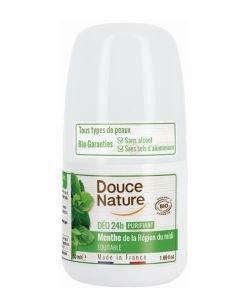 Déodorant Peaux Normales Sans Aluminium - Purifiant à la Menthe BIO, 50ml