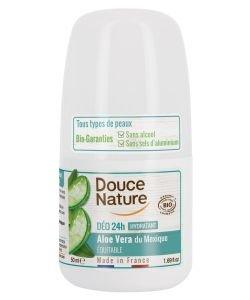 Déodorant 24h Aloe vera - Hydratant BIO, 50ml