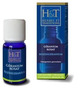 Géranium rosat (Pelargonium graveolens)