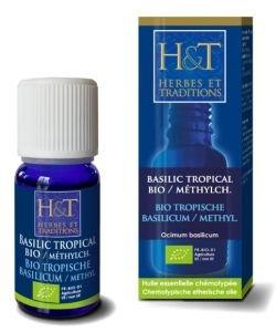 Basilic tropical à méthylchavicol (Ocimum basilicum) BIO, 10ml