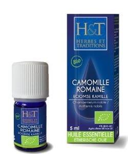 Noble / Roman chamomile (Chamaemelum nobile / Anthemis nobilis) BIO, 5ml
