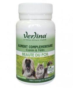 Beauté du poil - Aliment complémentaire Chiens & Chats - DLU 08/2020, 60comprimés
