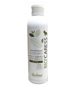 Shampooing chien Bio'Caress - Poils abîmés & peaux fragiles, 250ml