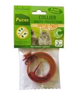 Collier insectifuge - Chats, pièce