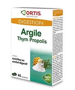 Argile Thym Propolis, 45comprimés
