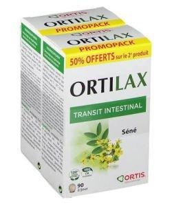 Ortilax PROMOPACK (-50% sur la 2ème boite), 2x90comprimés