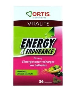 Energy & Endurance, 36comprimés