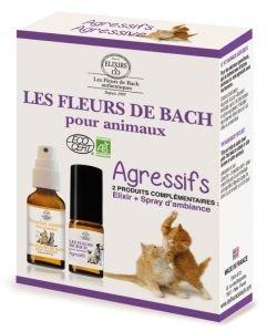 Duo fleurs de Bach - Animaux AGRESSIFS