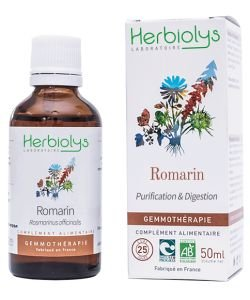 Romarin (Rosmarinus officinalis) - bourgeons frais BIO, 50ml