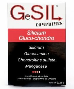 GeSIL comprimés - Glucochondro Silicium