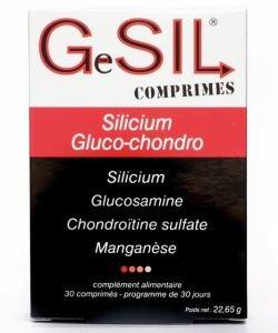 GeSIL comprimés - Glucochondro Silicium, 30comprimés