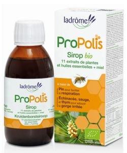 Sirop Propolis + 11 extraits  de plantes + miel BIO, 150ml