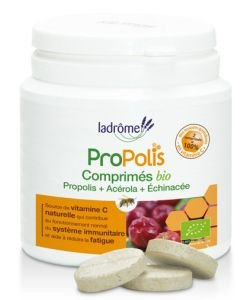 Comprimés à la Propolis + Acérola et Echinacée  BIO, 40comprimés