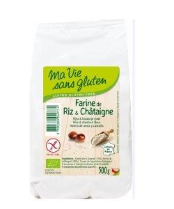 Farine de riz & châtaigne