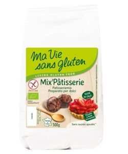 Mix Pâtisserie (sans sucres ajoutés) BIO, 500g