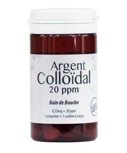 Bain de bouche Argent Colloïdal, 30comprimés