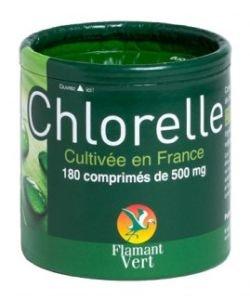 Chlorelle 500 mg, 180comprimés