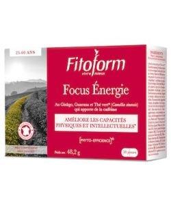 Focus Énergie, 40comprimés