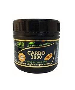 Carbo 2000 - Charbon végétal super activé (poudre)