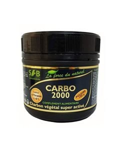 Carbo 2000 - Charbon végétal super activé (poudre), 100g
