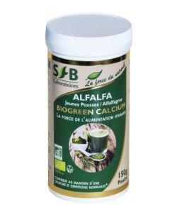 Alfalfa Jeunes pousses (poudre) BIO, 150g