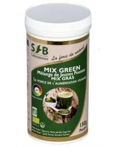 Mix Green - mélange de jeunes pousses BIO, 150g