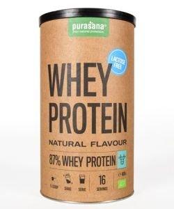 Protéines de petit-lait - sans lactose BIO, 400g