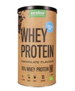 Protéines de petit-lait chocolat - sans lactose BIO, 400g