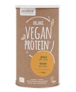 Pea plant proteins - Goji Flavor - Vanilla BIO, 400g