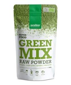 Green Mix (chlorella, spiruline, blé, orge) - Super Food