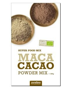 Mix de Maca et Cacao en poudre BIO, 200g