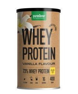 Protéines de petit-lait vanille