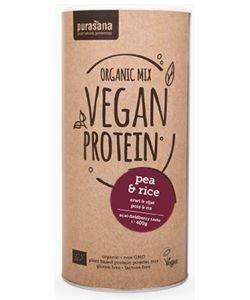 Protéines végétales de Pois et Riz - Arôme Fruits des bois - Açaï BIO, 400g
