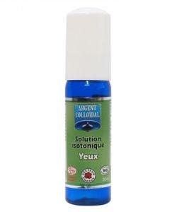 Hygiène des yeux - Argent colloïdal 20 ppm - spray