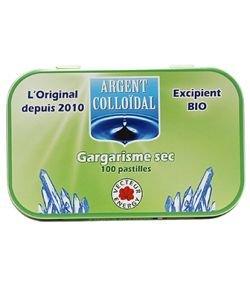 Hygiène de la bouche - gargarisme sec, 100pastillesàsucer