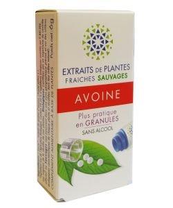 Avoine - Extrait de plante fraîche BIO, 130granules