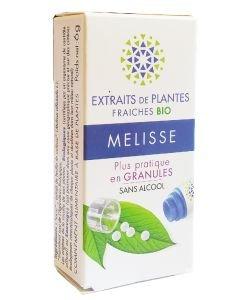 Mélisse - Extrait de plante fraîche BIO, 130granules