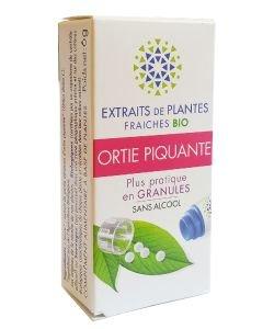Ortie piquante - Extrait de plante fraîche BIO, 130granules