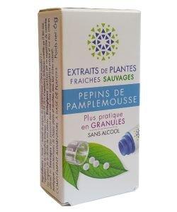 Pépins de pamplemousse - Extrait de plante fraîche BIO, 130granules