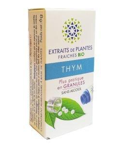 Thym - Extrait de plante fraîche BIO, 130granules