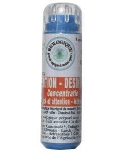 Complexe Inattention-Désintérêt (sans alcool) BIO, 130granules