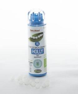 Houx - Holly (n°15) SANS ALCOOL BIO, 130granules