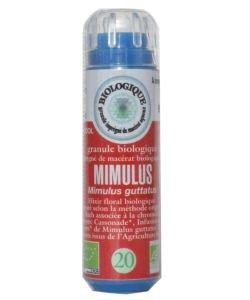 Muscade - Mimulus (n°20) SANS ALCOOL BIO, 130granules
